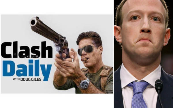 EXCLUSIVE… Clash Daily's Doug Giles Speaks Out After Facebook Ban – They're Lying About 'Spam,' 'Inauthentic Accounts'