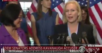Leading Democrat Voice Against Judge Kavanaugh Slandered Virginia Fraternity and Spread Vicious Rape Hoax