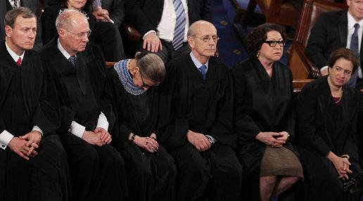photo image JUST IN: Ruth Bader Ginsburg to Miss Supreme Court Arguments For Second Consecutive Week