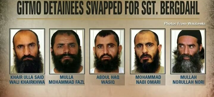 """Breaking: One of the """"TALIBAN FIVE"""" Swapped for Bergdahl Returns to Terror"""