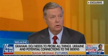 BREAKING: Lindsey Graham Calls on DOJ to Probe Potential Criminal Acts by Biden Family in Ukraine (VIDEO)