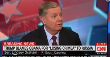 """Lindsey Graham: If You Don't Like Me Working with President Trump… I don't Give a Shi*t"""" (VIDEO)"""