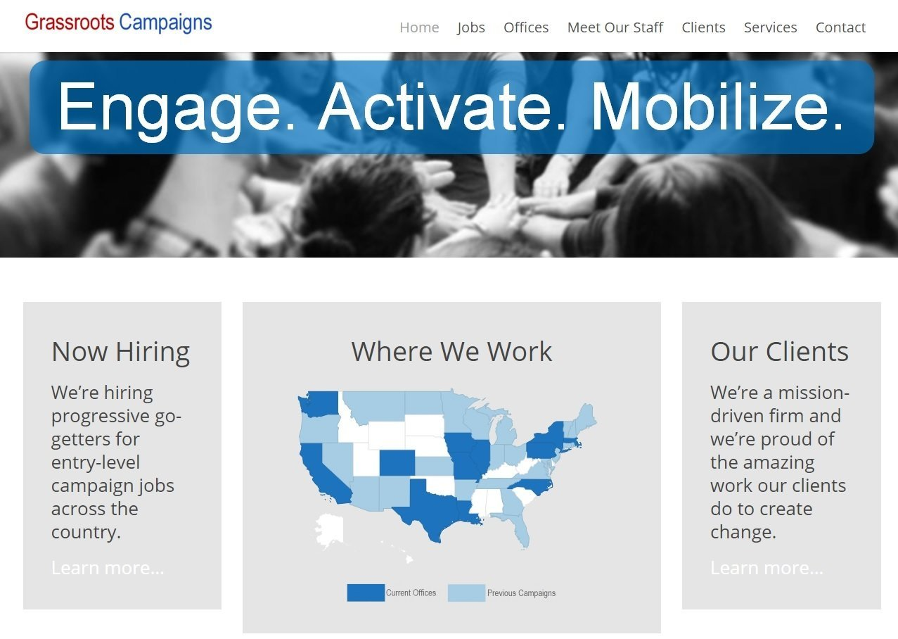 grassroots campaigns