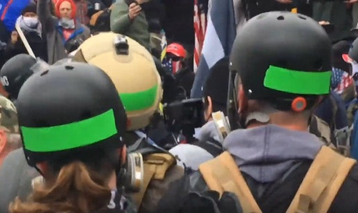 Who Were the FBI Infiltrators on Jan. 6? – Who Were the Violent Green Tape, Orange Tape and Black Bloc Operatives? Patriot Groups Say They Are Not Familiar With Them