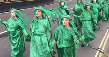 Global Warming Costume Cult Calls for Civil Disobedience if Global Socialism Is Not Implemented Immediately