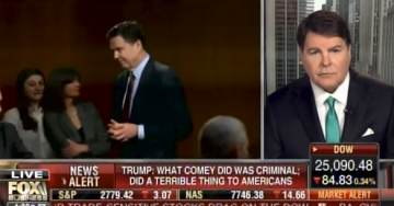 Gregg Jarrett: IG Report Shows James Comey Committed Criminal Act – Obstruction of Justice (VIDEO)