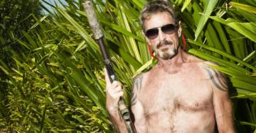 Crypto Advocate & Presidential Candidate John McAfee Is On The Run, Refuses To Back Down To IRS Threats