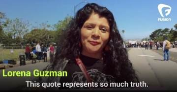 """Anti-Trump Protester: """"We Don't Need White Man Telling Us He's Going to Build a Wall in Our Land"""""""