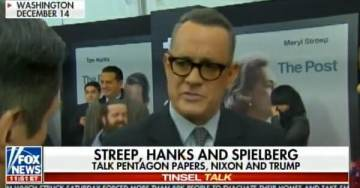 Tom Hanks on Trump: Trump Admin is Waging a Guerrilla War on First Amendment – Not Interested in the Truth (VIDEO)
