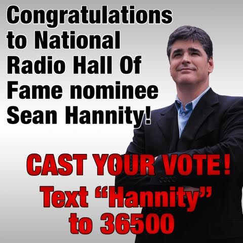 hannity hall of fame