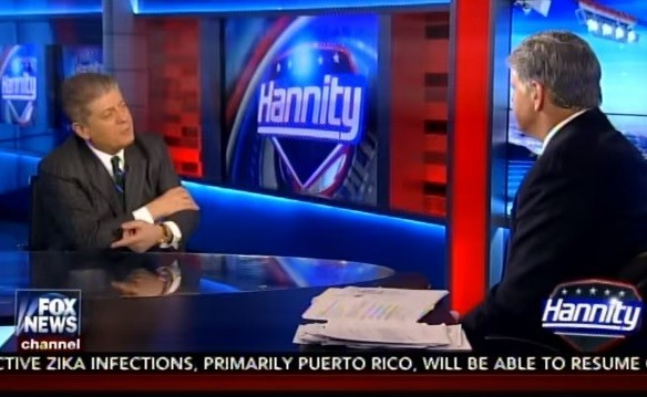 Hannity and Judge Napolitano on Lewandowski Video: Nothing Happened, Zero Evidence of Intentional Harm (VIDEO)