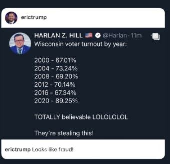 So many Votes... So much Fraud to Count! Here's the Rundown Harlan-hill-wi-turnout