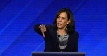 Kamala Harris Asks Town Hall Audience If America 'Ready' For Her Presidency. Crowd Shouts 'No!'