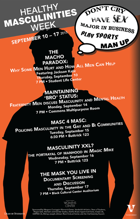 healthy masculinities week