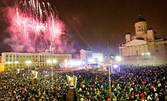 helsinki new years