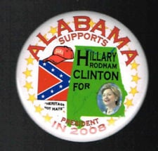 hillary alabama pin
