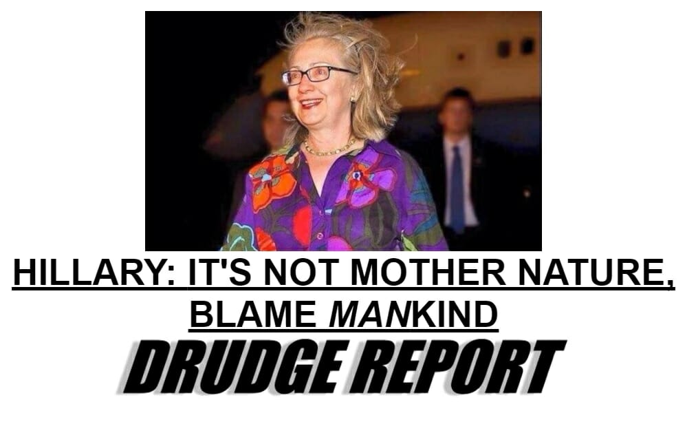 hillary-drudge-global-warming