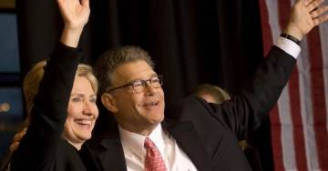 Hillary Defends Al Franken – He Doesn't Need To Resign, He Is My Friend (AUDIO)