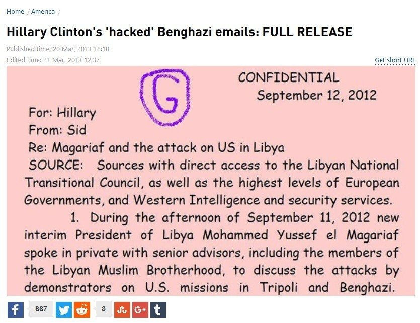 hillary hacked emails