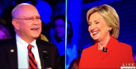 hillary laughs beating