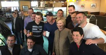 "Oh Puh-leeze… Hillary Clinton: ""I Love Having Men at My Feet"""