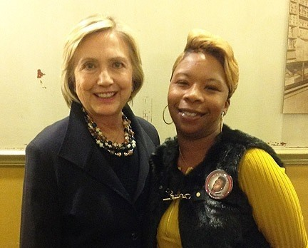 hillary michael brown mother