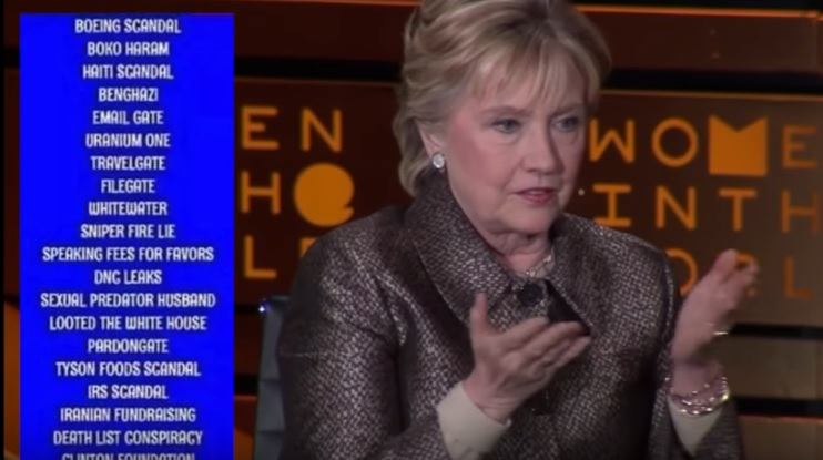 Hillary Clinton Blames Misogyny for Her Election Loss (VIDEO)