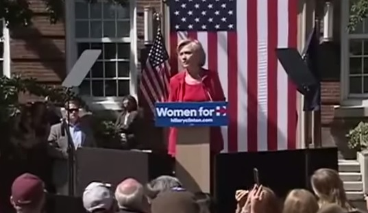 hillary prompters