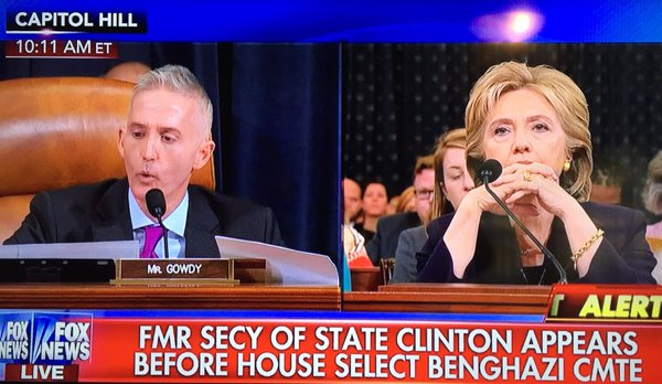 hillary stares gowdy