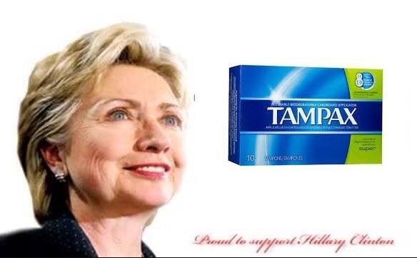 hillary tampon
