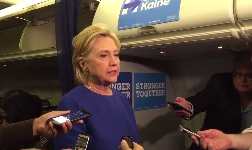 hillary-tired-plane-bombs