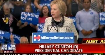 "VIDEO=> Hillary Clinton Fails in Her Attempt to Slam Donald Trump ""Make America Whole Again"""