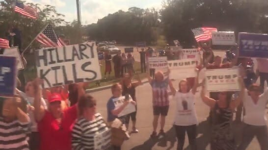 hillary-trump-supporters-florida