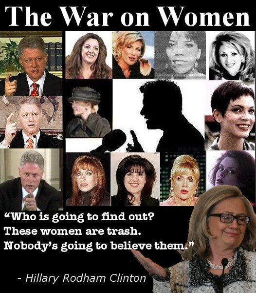 hillary war on women