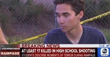 Parkland High School Teen Activist Says NRA Members Are Child Murderers – And If You Oppose Him You Hate Children