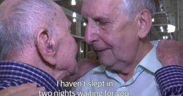 Amazing Story! 102-Year-Old Holocaust Survivor Thought He Lost All of His Family in WWII – Then This Happened…