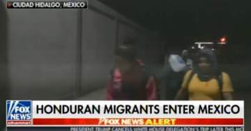 PELOSI'S ANGELS: MEXICO OPENS BORDER to a THOUSAND Illegal Migrants in Caravan Traveling to US Border (VIDEO)