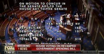 BREAKING: HOUSE APPROVES REVAMPED SPENDING BILL WITH BORDER WALL FUNDING — 212 to 175