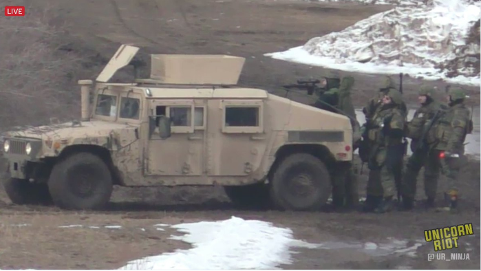 Military Vehicles, Bulldozers and Heavily Armed Police Remove Dakota Pipeline Protesters (Photos & Video)