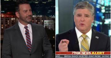 'Just When It Couldn't Get Any Worse': Jimmy Kimmel Asks NSFW Graphic Question About Sean Hannity's Daughter