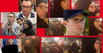 CONFIRMED!… Ilhan Omar and Lover Tim Mynett Were Seen at the MN Trump Riots!  PHOTOS AND VIDEO — (Facial Recognition Confirmation) ..UPDATE