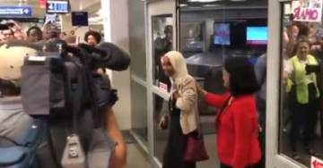 Anti-Semite Ilhan Omar Gets Hero's Welcome Back Home in Minnesota (VIDEO)