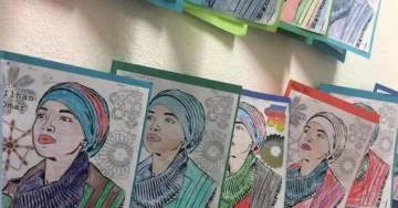 Teaching Kids to Hate: Minnesota Children Instructed to Color Cards of Anti-Israel and Anti-American Ilhan Omar for Class Assignment