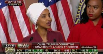 "Ilhan Omar Attacks Trump: This is a President Who Calls Women ""Grab Them By the Pussy"" – A President Who Makes People Drink from Toilets (VIDEO)"