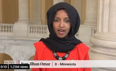 "Ilhan Omar Calls Illegal Aliens ""Undocumented Americans"" in Statement Opposing ICE Deportation Raids"