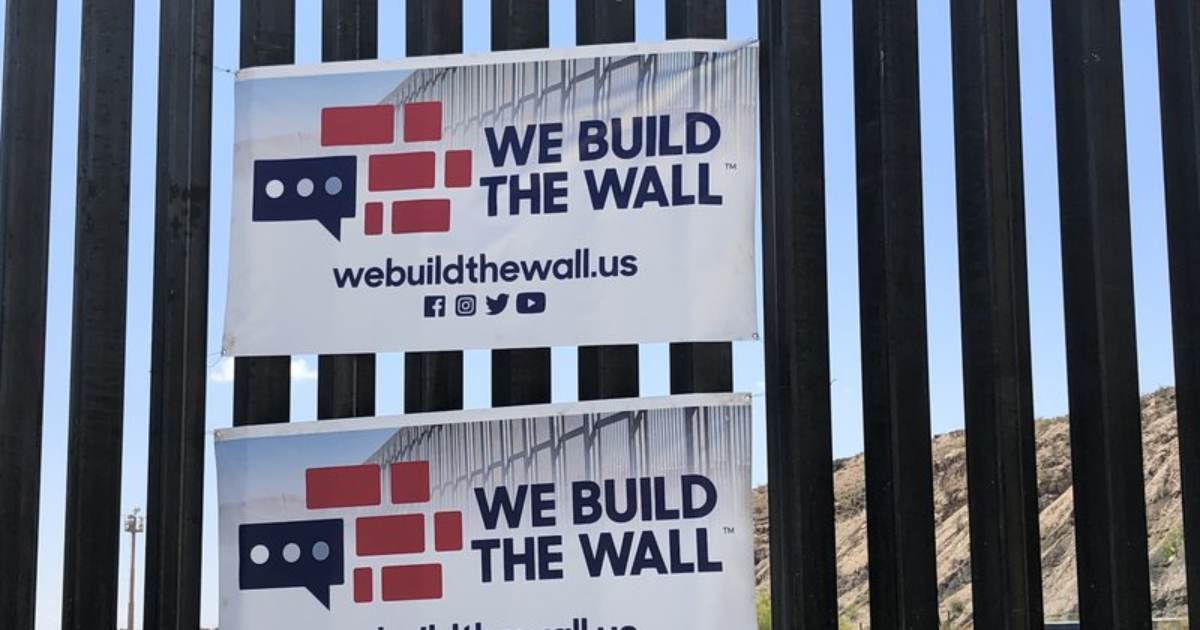 EXCLUSIVE | We Build The Wall President Brian Kolfage: Corrupt International Organization Controls Southern Border, Not DHS Or Border Patrol (VIDEO)