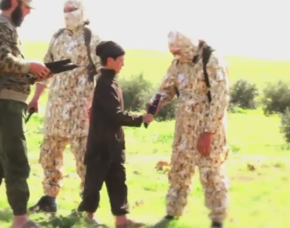 isis child knives