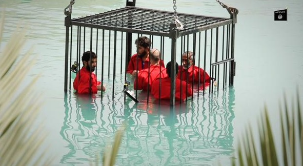 isis drowning