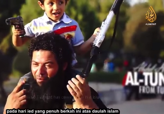 isis eid greeting kids