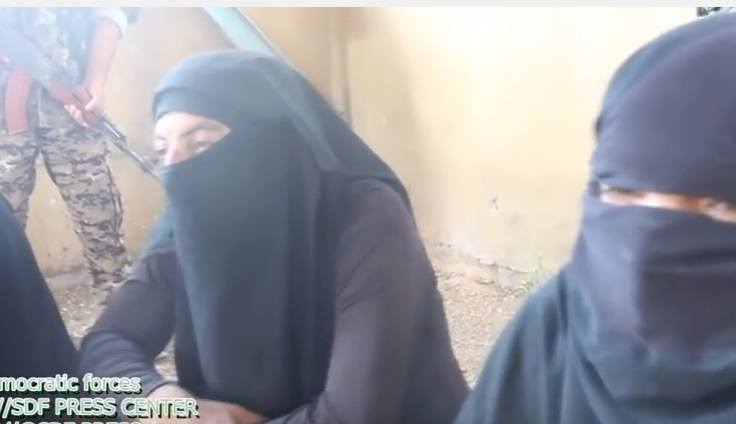 isis fighters burka